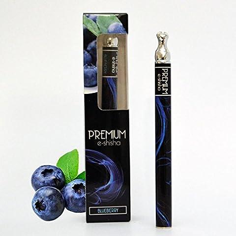 Premium e-shisha - Blueberry - 1.000 Zuege, nikotinfrei