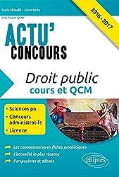 Actu'Concours Droit Public Cours et QCM 2016-2017