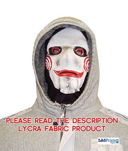 Halloween Schwert Face Novelty Fun Stoff Face Maske Design Snood Gesichtsmaske hergestellt in (Michael Maske Meyers)