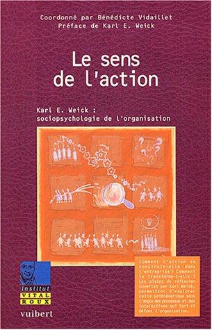 Le sens de l'action : Karl Weick : sociopsychologie de l'organisation
