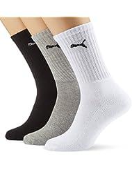 Puma Unisex Sport Socken in gewohnter Puma Markenqualität. 9 Paar,mt
