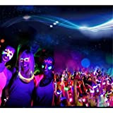 Fluoreszierende Glow Face Malerei ,Glow in the Dark Farbe – Für Körper, Haut – Party, Halloween, Show etc. – POLYHYMNIA (52mm x 30mm/2.05