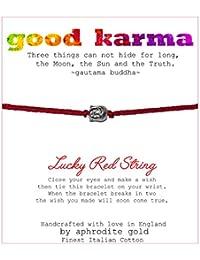 Good Karma Buddha Lucky Red String Friendship Bracelet