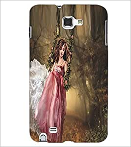 PRINTSWAG BEAUTIFUL GIRL Designer Back Cover Case for SAMSUNG GALAXY NOTE 1 N7000