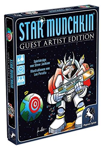Pegasus-Spiele-17232G-Star-Munchkin-Guest-Artist-Edition-Peralta-Version