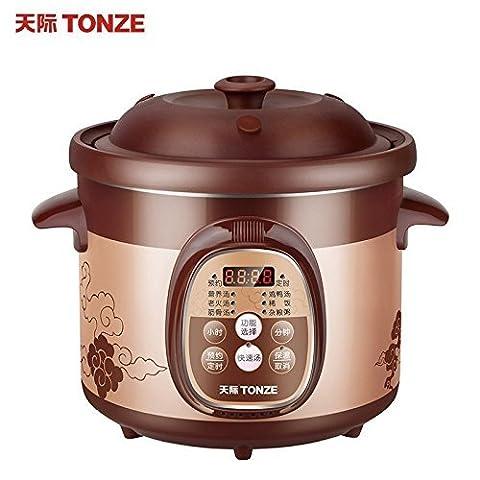 LIUYU Cuisinière à gaz électrique Cuisinière pour bébés Cuiseuse à soupe Conjee ?? ? ? ? (2L),2L