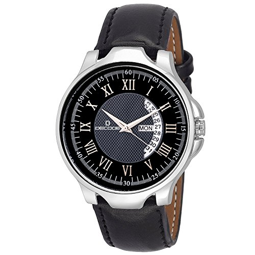 Decode GR-5042 Black Matrix Collection Wrist Watch for Men/Boys