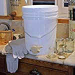 Easibee Honey Settling Tank 20 Litre Double Stainless Steel Strainer Valve Beekeepers 12