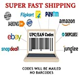 #3: CrownLit's EAN/UPC Codes,Pack of 100 Codes (Faster Shipping,Will be Mailed) (CD)