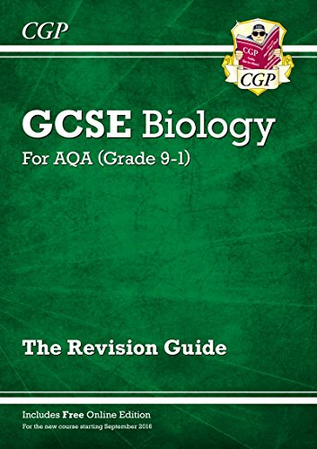 New Grade 9-1 GCSE Biology: AQA Revision Guide with Online Edition Test