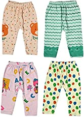Guchu 100% Hosiery Cotton Baby Pyjama for Baby Boy, set of 4