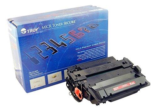 Troy 02–81601–001Tonerkartusche und Chip-Patrone–Toner für Laserdrucker, Schwarz, HP, Troy 3015Micr, HP LaserJet P3015Printers, HP LaserJet M525, 1Stück (S), Laser Cartridge, 12500Seiten) (001 Toner Micr Patrone)