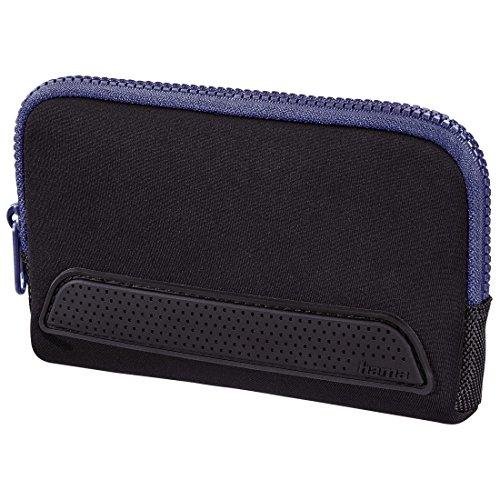 Hama Tasche Smart Sleeve (für Nintendo New 3DSXL/3DSXL/DSi XL mit zwei Game Cases) schwarz/blau
