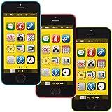 Kinder Spielzeug Handy / Smartphone MIT LICHT UND SOUND (40 Melodien) Ab 12m+ (GRÜN)