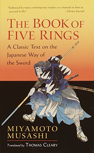 The Book Of Five Rings (Shambhala Library) por Miyamoto Musashi