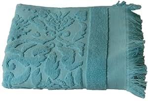 Sensei 095002.0007 Hammam Lot de 3 Serviettes Invité Turquoise 30 x 50 cm