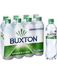 Buxton Sparkling Natural Mineral Water 8x500ml