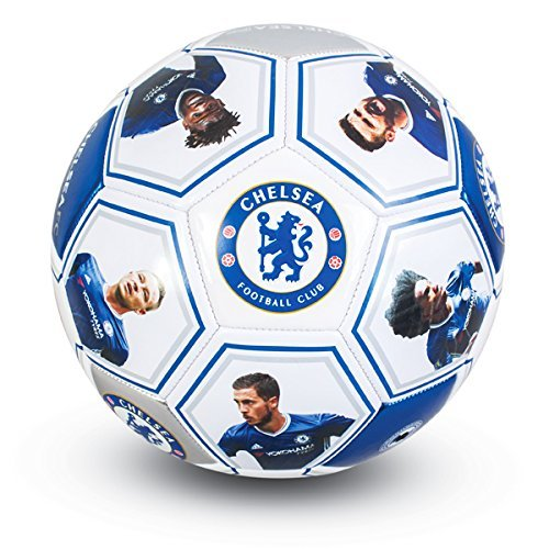 Official Football Players Photo Signature Ball | Size 5 Chelsea Test