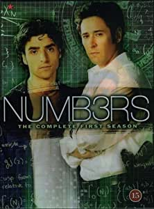 Numbers (Numb3rs) - Die komplette Staffel 1 [DVD] EU-Import mit Deutschem Ton