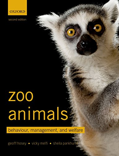 Zoo Animals: Behaviour, Management, and Welfare por Geoff Hosey