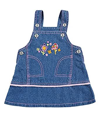 Tillu Pillu Baby Girls' Skirt (KDC_16_Blue_3-6 Months)