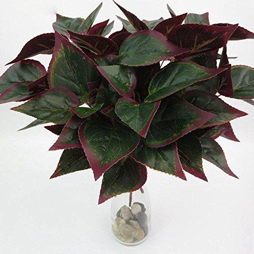 Bush Palme (Künstliche Pflanzen Blumenstrauß Palme Bush Lebensechte Pflanzen Bäume Sträucher für Dekoration Tisch Schreibtisch Küche Restaurant Home Decor Indoor Landsacpe)