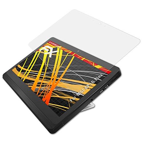 atFoliX MSI AP16 Flex Protezione Pellicola dello Schermo - 2 x FX-Antireflex-HD ad alta risoluzione antiriflesso Pellicola Proteggi