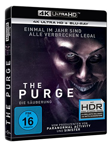 The Purge 1: Die Säuberung – Ultra HD Blu-ray [4k + Blu-ray Disc] - 2