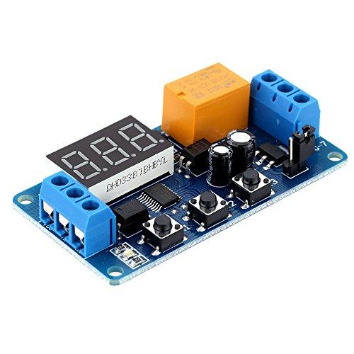 KKmoon LED Anzeige Automatisch Digital Verzögern Zeitsteuerung Relais Schalter Modul Delay Timer Control Relay Switch Modul 3V / 3.7V / 4.5V / 5V / 6V (Timer Switch, 20 Minuten)