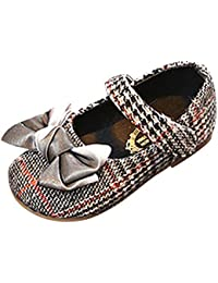 Rawdah-- Scarpe da Bambina Bowknot Eleganti Ballerine Ragazze Casuale Scarpe  da Principessa Danza Sneaker 77d93d3325c