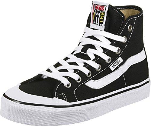 Vans Black Ball Hi Sf - Scarpe da Ginnastica Basse Uomo, Multicolore (checkerboard/black/white), 38.5 EU Black/true White