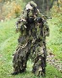 Ghillie Miltec o traje camuflaje 3Pieces Camo Oak Leaf 3d hoja de Chene con bolsa de transporte 11961520M/L Airsoft