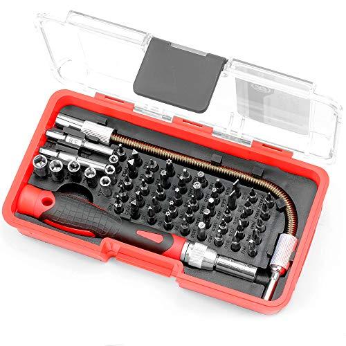 Hi-Spec 58-teiliges Elektronik-Bit-Set (Reparatur von Mobiltelefonen, iPhone, MacBook Air & Pro, PDA, PC, Laptops, LCD Bildschirmen, Tablets, Uhren, Game Boy, PS2, Xbox und mehr.)