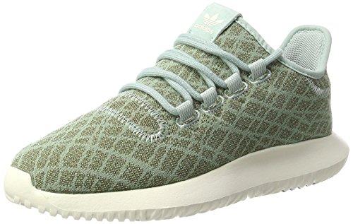 adidas Tubular Shadow, Scarpe da Ginnastica Basse Donna Verde (Tactile Green/tactile Green/chalk White)