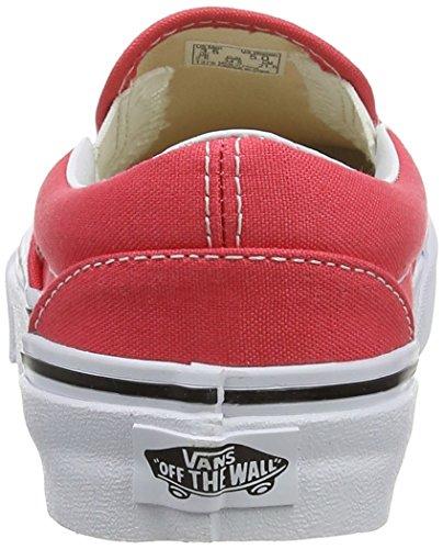 Vans Unisex-Erwachsene U Classic Slip-ON Gymnastikschuhe Rosso (Red (Cayenne/True White))