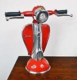 Vespa Tischlampe mit Scheinwerfer rot