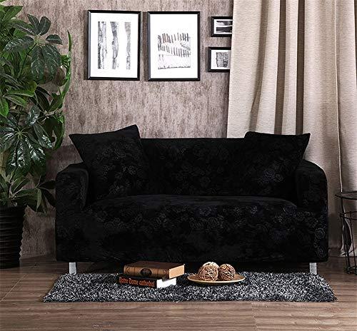 Icegrey Jacquard Sofabezug Anti-Rutsch Schonbezug für Sofa Sofahusse Stretchhusse