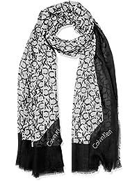 Calvin Klein Ck Allover Scarf, Pañuelo para Mujer