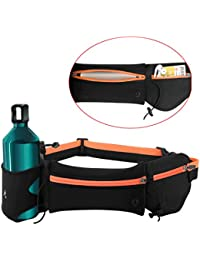 Outgeek Running Belt Pouch Sports Waist Bag Anti-Theft Waterproof Gym Belt Bag Hiking Waist Pack For Women Men