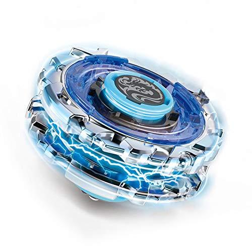infinitoo Kampfkreisel Doppelangriff Battling Tops 4D Fusion Modell Beschleunigungslauncher Speed Kreisel Tolles Kinder Spielzeug Geschenk