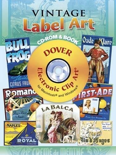 Vintage Label Art [With CDROM] (Dover Electronic Clip Art)