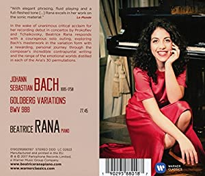 Bach: Goldberg Variations from Warner Classics