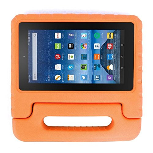 bluester-kids-shock-proof-eva-handle-stand-case-cover-for-amazon-kindle-fire-hd-7-2015-orange
