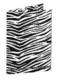 Ursus 4924003Chemises 3Rabats Élastique, DIN A3, Animal zébré, Multicolore