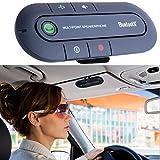 Haut-parleur de voiture, mains libres, Bluetooth multipoint, sans fil, installation sur le pare-soleil RF