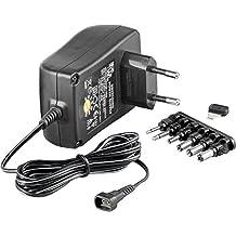 Wentronic 67952 Interior Negro adaptador e inversor de corriente - Fuente de alimentación (100-240, 12 V, 1,5 A, Interior, Universal, Negro)
