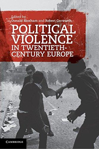 Political Violence in Twentieth-Century Europe by Donald Bloxham (Editor), Robert Gerwarth (Editor) (10-Mar-2011) Paperback
