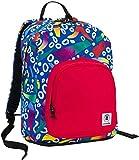 Sac à dos INVICTA - OLLIE PACK - motif rouge bleu - 25 litres - Poches porte-ordinateur et tablet - Sport école et loisirs nouveau