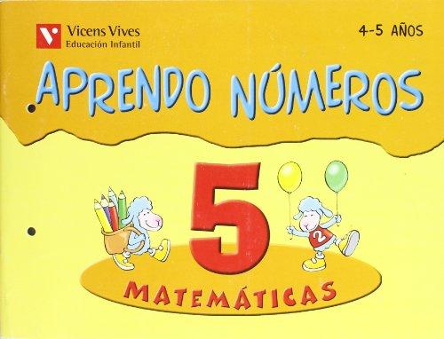 Aprendo Números. Cuaderno 5 - 9788431636937