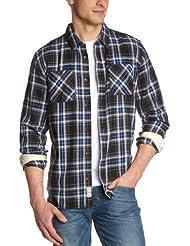 Vans - Camisa para hombre, tamaño M, color azul
